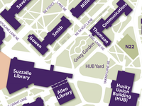 HUB - Grieg on Campus Map