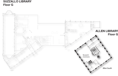 Research Commons map
