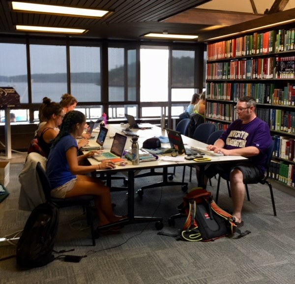 Friday Harbor Library Students