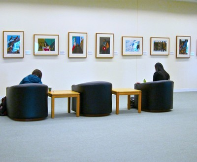 Allen Library 4th Floor Gallery Study Area A