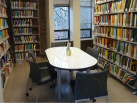 Mathematics Research Library 1st Floor Study Area