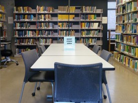 Mathematics Research Library 2nd Floor South Study Area