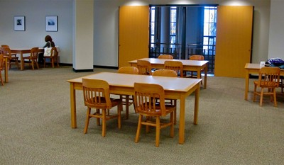 Suzzallo 4th Floor Overlook Study Area B