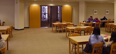 Suzzallo 4th Floor Overlook Study Area C
